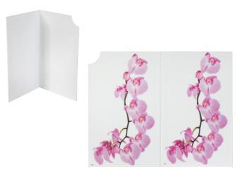 Доска разделочная складная Орхидея 35*28см пластик