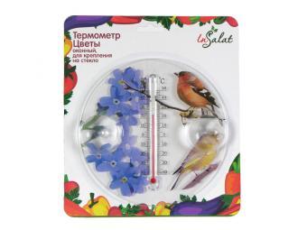 Термометр оконный Цветы