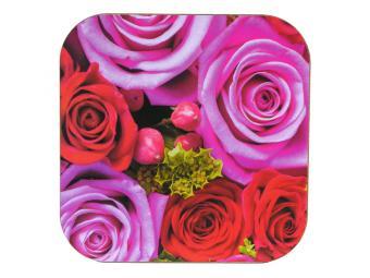 Подставка под горячее 18*18 см Розы