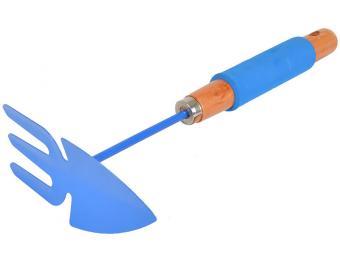 Мотыжка-рыхлитель лепесток с деревянной ручкой