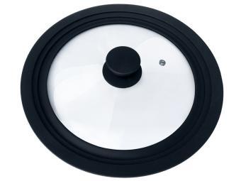Крышка универсальная с силиконовым ободком 24, 26, 28см