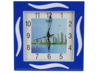 Часы настенные 28*28см AVIO 597
