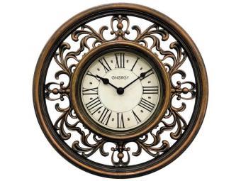 Часы настенные кварцевые ENERGY ЕС-120 круглые