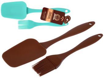 Кисточка и лопатка силикон Marmiton