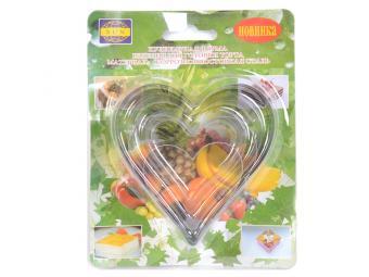 Форма кулинарная сердечки OR-143