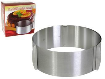 Форма кулинарная регулируемая 16-30см*8,5см