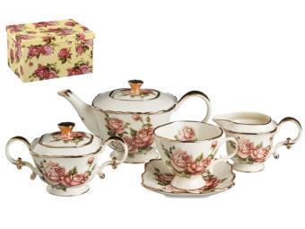 Чайный набор Корейская роза 15пр Lefard