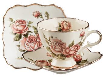 Чайный набор Корейская роза 15пр Lefard Арти-М