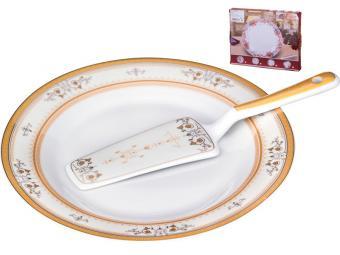 Блюдо для торта и лопатка 389-390