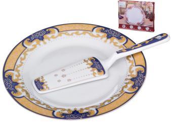 Блюдо для торта и лопатка 389-396