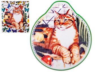 Подставка под горячее Кошки 19*22см 229-296