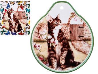 Подставка под горячее Кошки 19*22см 229-299