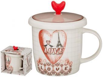 Кружка 350мл Be my Valentine