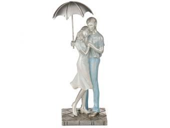 Фигурка ''Влюбленные'' 10*8*28см серия Под зонтом