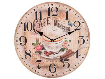 Часы настенные ''Кофе с корицей'' 34*34*4,5см