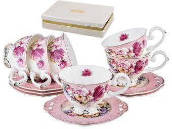 Чайный набор на 6 персон 12 пр 200мл 540296