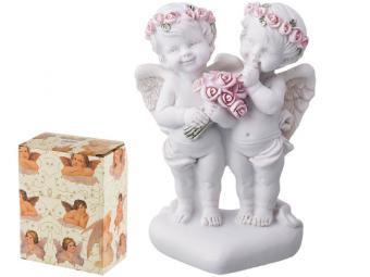 Фигурка Два купидона коллекция ''Amore'' 9см 540380
