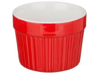 Форма для запекания жульенница 300мл ''Рамекин'' красный
