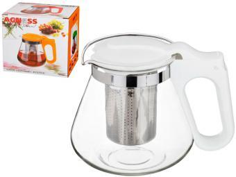 Чайник заварочный с нерж фильтром 700 мл