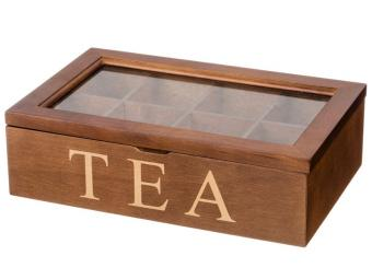 Шкатулка для чая 8*18*28см