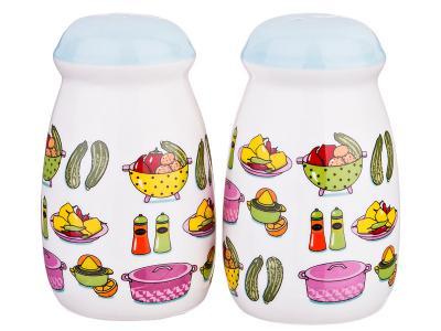 Набор для специй 2пр ''Vegetable'' 5, 8*5, 8*9, 7см Арти-М