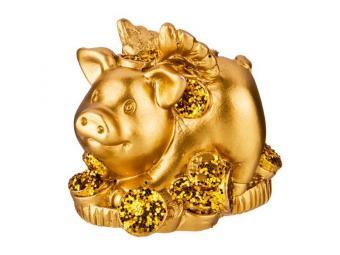 Фигурка Свинка 3,5*3*5,5см