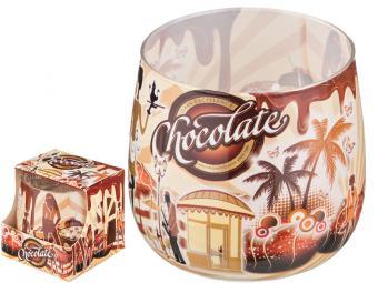 Свеча ''Шоколад'' 7*6см