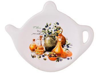 Подставка для чайных пакетиков ''Греческая оливка''