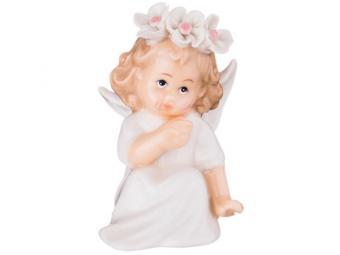 Фигурка Ангелок в веночке