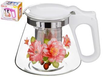 Чайник заварочный 700мл Agness жесткий фильтр из нжс