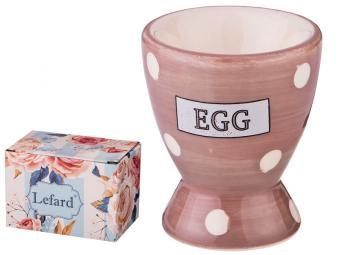 Подставка под яйцо ''Pink egg''