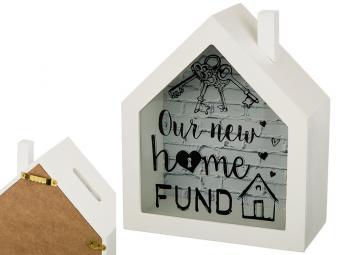 Копилка ''Фонд-ключи от дома'' 15*18*7см