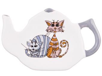 Подставка под чайный пакетик Озорные коты 541268