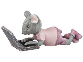 Статуэтка ''Мышка'' 10*3*4см 541282