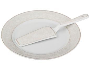 Блюдо для торта с лопаткой 23см 541333