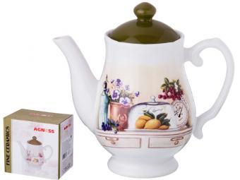 Чайник заварочный 1000мл ''В саду''