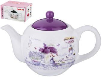 Чайник заварочный 900мл ''Лавандовая весна''
