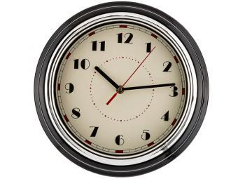 Часы настенные кварц. ''Lovely home'' 29,8*29,8*9,5см (черный)