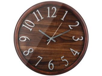 Часы настенные кварц. ''Tree'' 36*36*4см (венге)