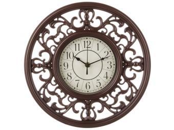 Часы настенные кварц. ''Lovely home'' 34*32*6см