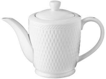 Чайник заварочный белый без рисунка 500мл
