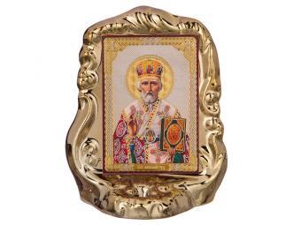 Икона Николай Чудотворец 13см