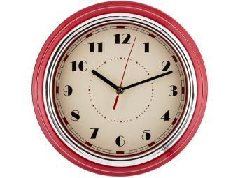 Часы настенные кварц Lovely home красный 541733