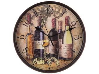 Часы настенные кварц Chef citchen 24,5см
