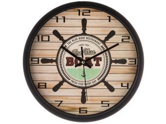Часы настенные кварц Boat 31см