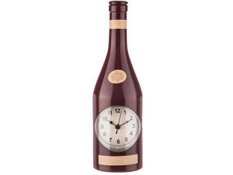 Часы настенные кварц Chef kitchen красный 541739