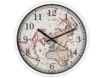 Часы настенные кварц World map 31см
