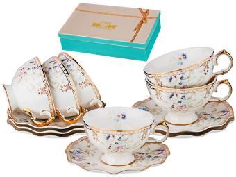 Чайный набор 12пр 200мл ''Завтрак у короля''