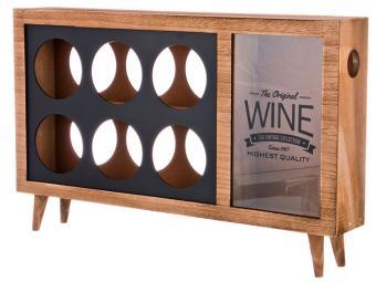 Подставка под бутылки и копилка для пробок ''Wine'' 48*8*28см
