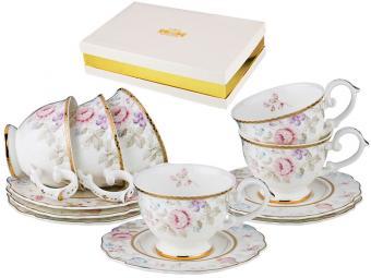 Чайный набор 12пр 200мл Silk